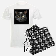 Dangerously Beautiful Black Cat Pajamas