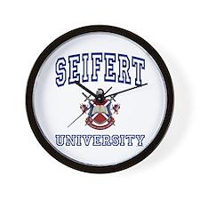 SEIFERT University Wall Clock