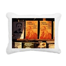 Cuba, La Habana, Book ma Rectangular Canvas Pillow