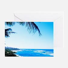Beautiful beaches at Puerto De Tierr Greeting Card