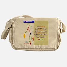 B. Bully Sneaky TY 2 Messenger Bag