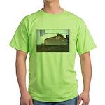 Dog tired Green T-Shirt