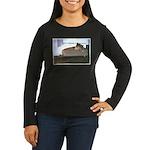 Dog tired Women's Long Sleeve Dark T-Shirt