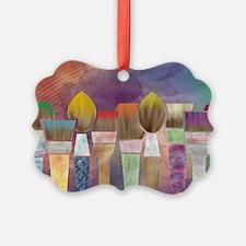 Paintbrushes_laptopskin Ornament