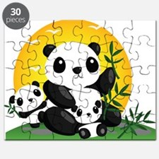 Panda Family Puzzle