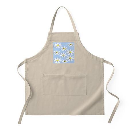 daisies blue 2 Apron
