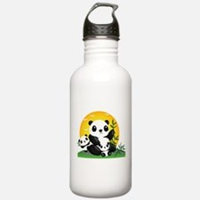Panda Family Water Bottle
