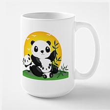 Panda Family Mugs