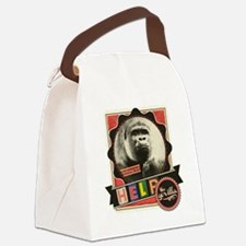 Endangered-Gorilla-1 Canvas Lunch Bag
