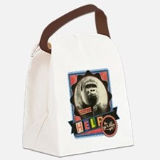 Endangered-Gorilla-2 Canvas Lunch Bag