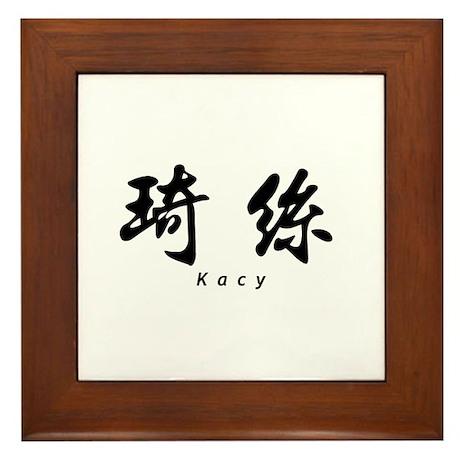 Kacy Framed Tile