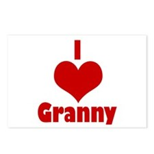 heart granny Postcards (Package of 8)