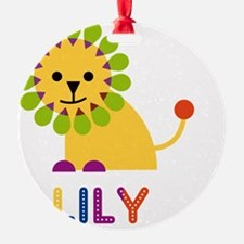 Lily-the-lion Ornament