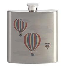 Hot Air Balloon Sq Lt Flask