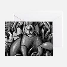 velveteen rabbit new copy Greeting Card