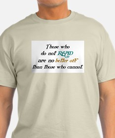 Importance Of Reading T-Shirt
