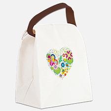 TwiMom Love -dk Canvas Lunch Bag