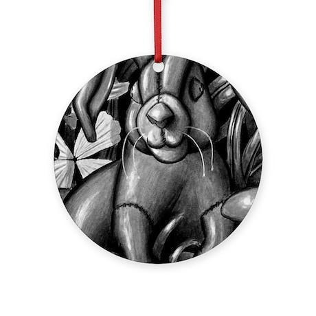velveteen rabbit new copy Round Ornament