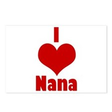 I Love Nana Postcards (Package of 8)