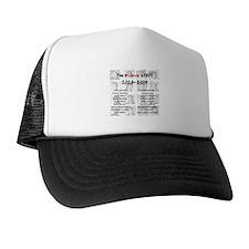 Unique Archive Trucker Hat