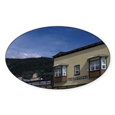 Dawson City. Historical buildings a Decal