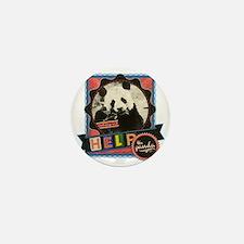 Endangered-Panda-2 Mini Button