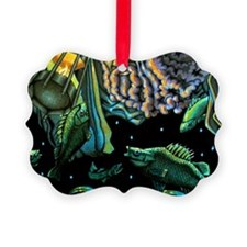 sleep fish newcolor mp Ornament
