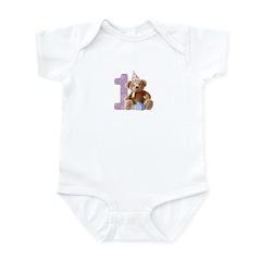 Teddy Bear 1 Infant Bodysuit