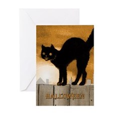 CatOnFence_Kindle Greeting Card