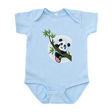 Panda on Tree Body Suit