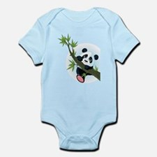 Panda on Tree Body Suit