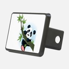 Panda on Tree Hitch Cover
