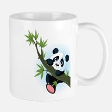 Panda on Tree Mugs