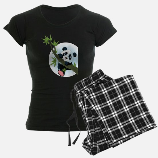 Panda on Tree Pajamas