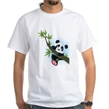 Panda on Tree T-Shirt