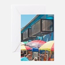 Prado area of shops in downtown Hava Greeting Card