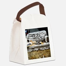 Graffiti Couch Canvas Lunch Bag