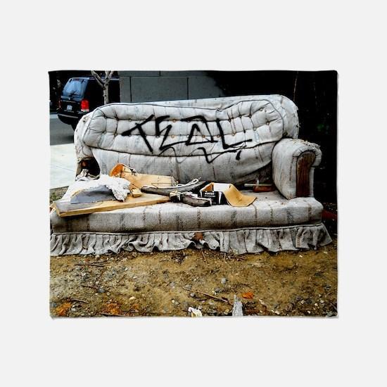 Graffiti Couch Throw Blanket