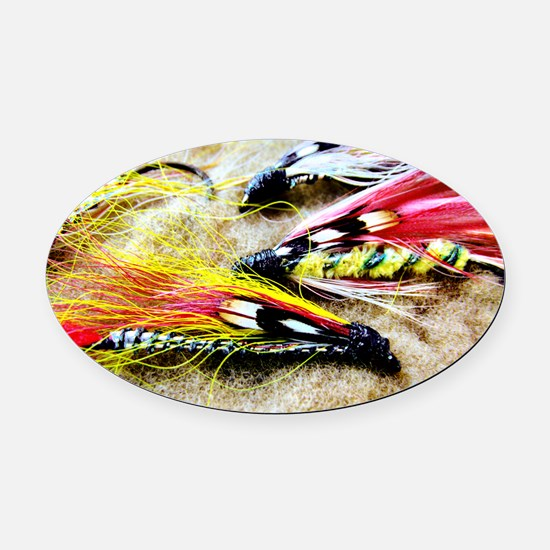 so fly Oval Car Magnet