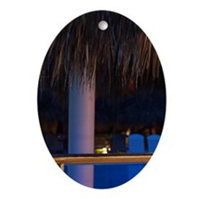 Punta Cana Region Oval Ornament