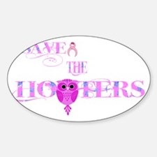 Save the Hooters Owl Decal