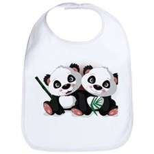 Two Pandas Bib
