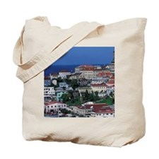 St. George. The Carenage. Harbor in downt Tote Bag