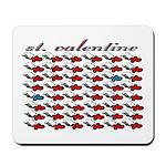 VALENTINE SAINT by bluedecker Mousepad