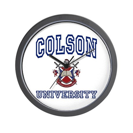 COLSON University Wall Clock