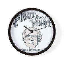 bernie-fight-LTT Wall Clock