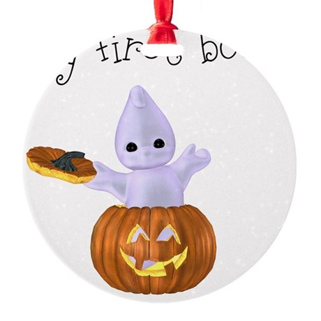 my first boo Round Ornament