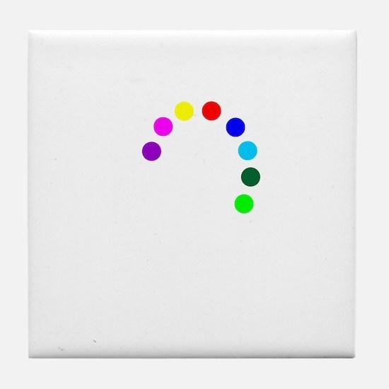 cp-piratelogo-stack-neg Tile Coaster