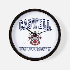 CASWELL University Wall Clock