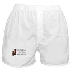 Worth Every Cent Boxer Shorts
